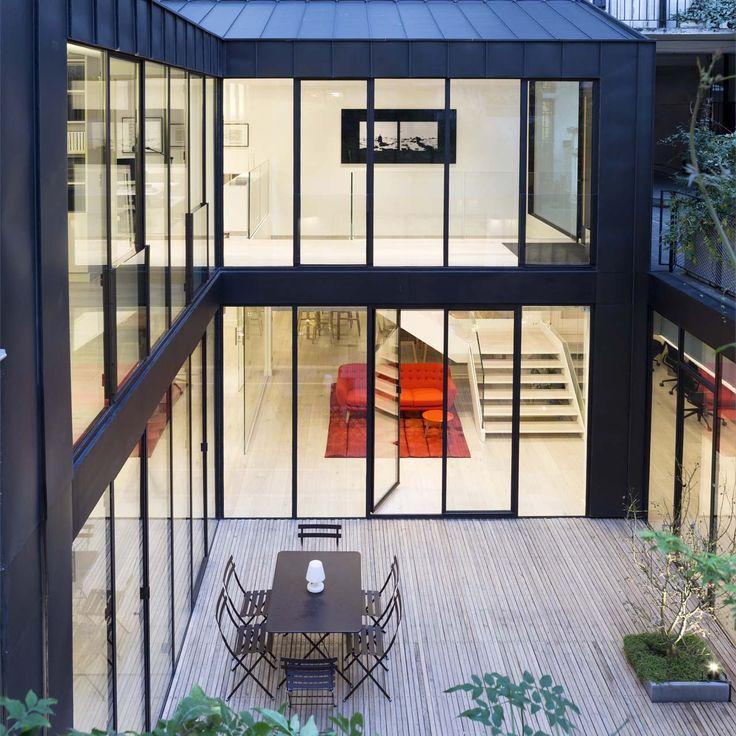 PCA Agency by Philippe Chiambaretta architecte in Paris, France. #morfae #pca #philippechiambaretta #officedesign #interiordesign #extensions