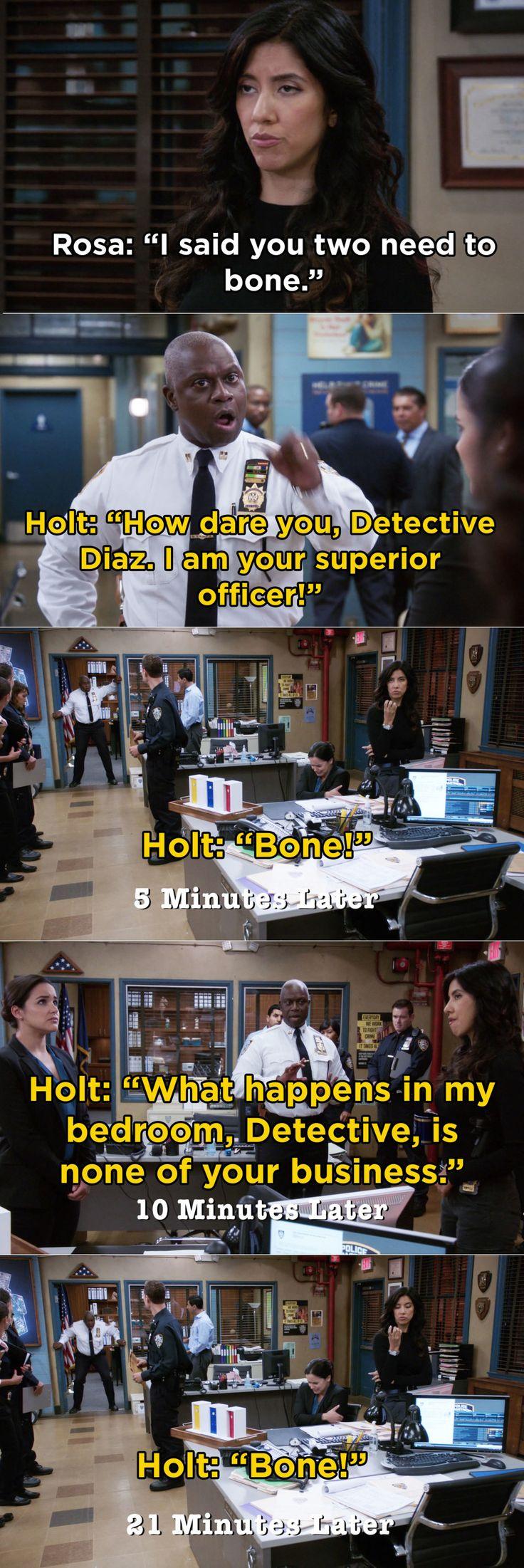 Brooklyn Nine-Nine: 18 Captain Holt Memes Proving He's The Greatest