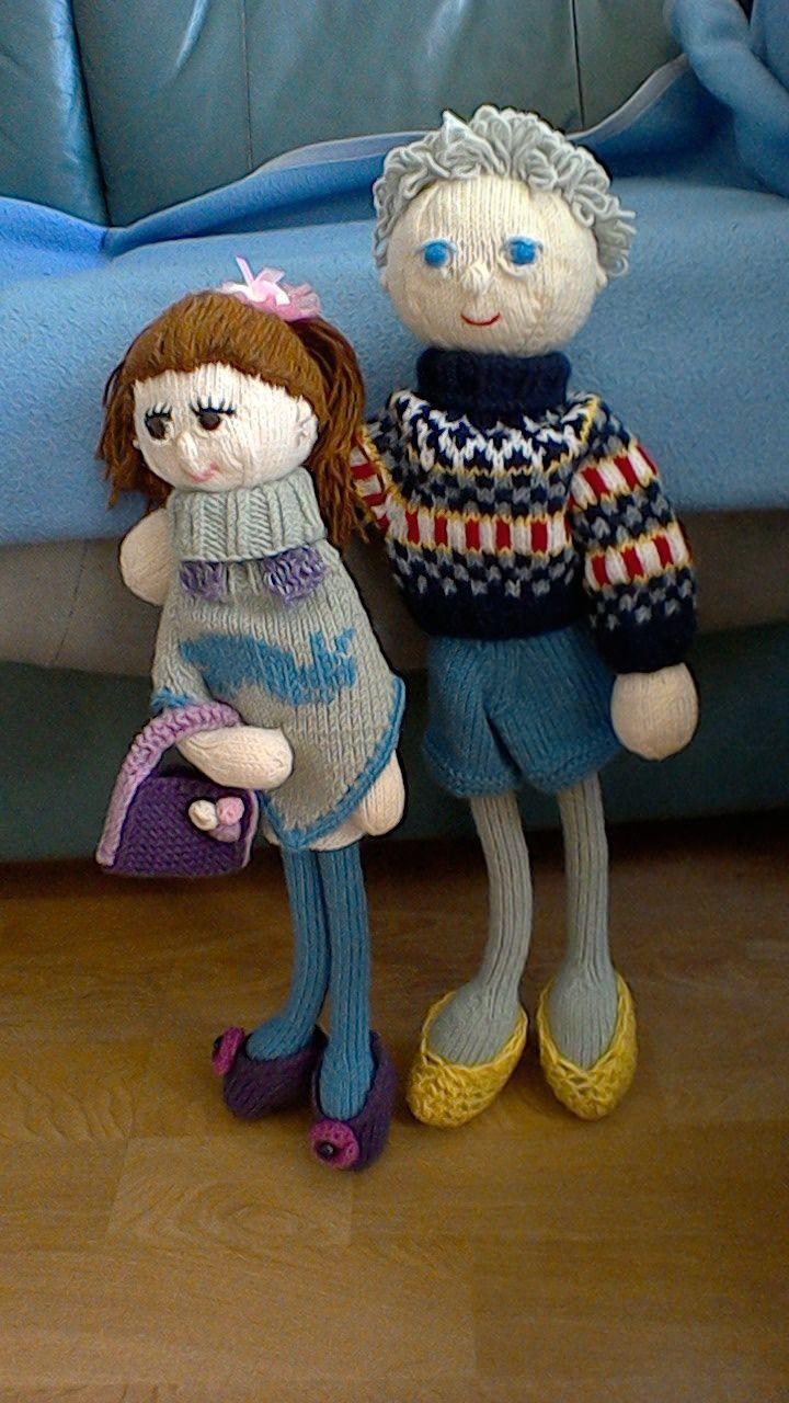 My next dolls, the couple. (Arne & Carlos book)