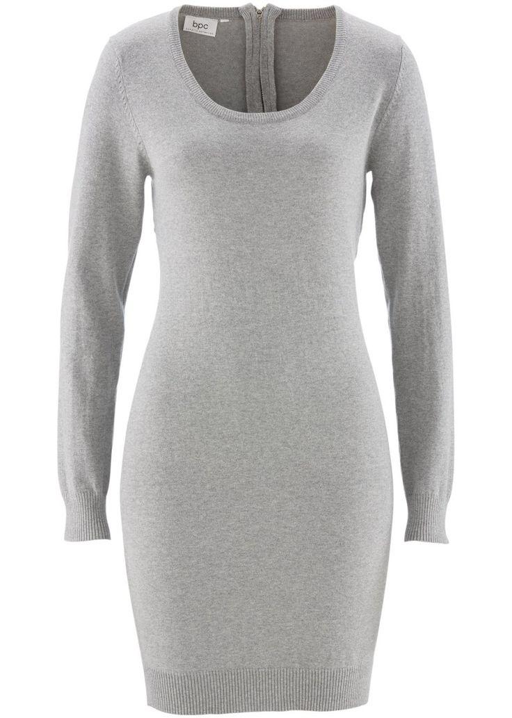 Pletené šaty Zapínanie na zips na chrbte • 19.99 € • Bon prix