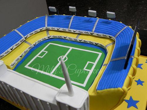 Cake Estadio Boca Jrs para Mateo