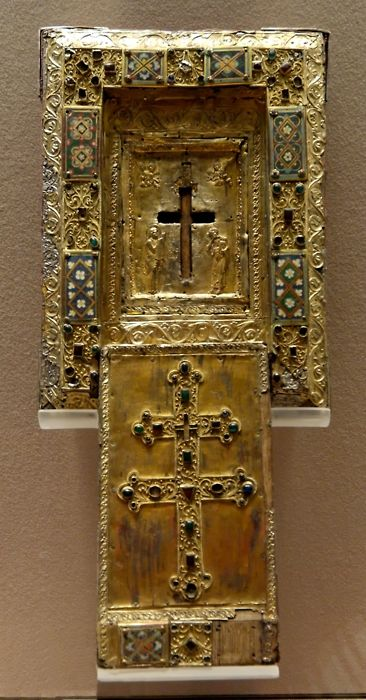 Byzantine reliquary of the True Cross, 11th c.