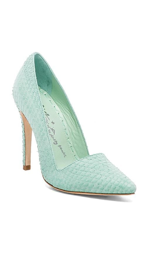 Mint Pumps / Alice + Olivia