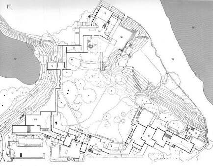 Louisiana Museum of Modern Art plan
