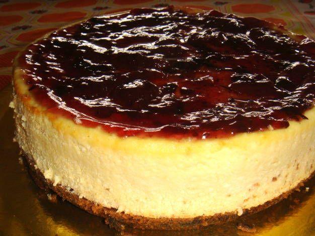 Cheesecake con frutillas
