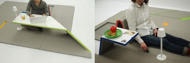 家具にもなる、折り紙式のハイテク畳 « WIRED.jp Archives