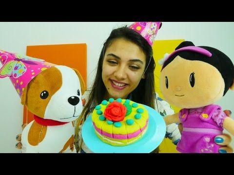 #egiticivideo. Dila Nisa bebek Ayça ile doğumgünü hazırlığı yapıyor. #kızoyunları - YouTube