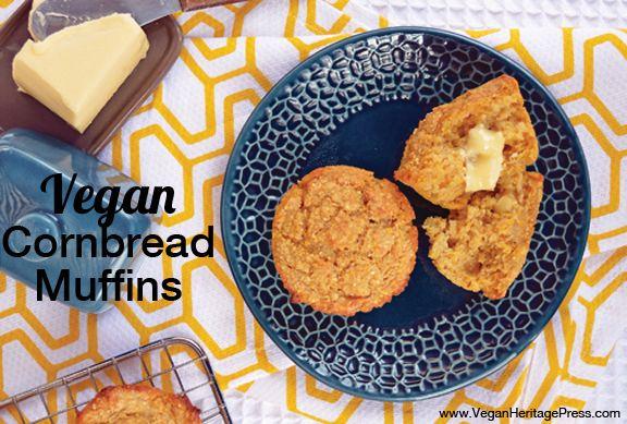 Vegan Cornbread Muffins from Everyday Vegan Eats by Zsu Dever