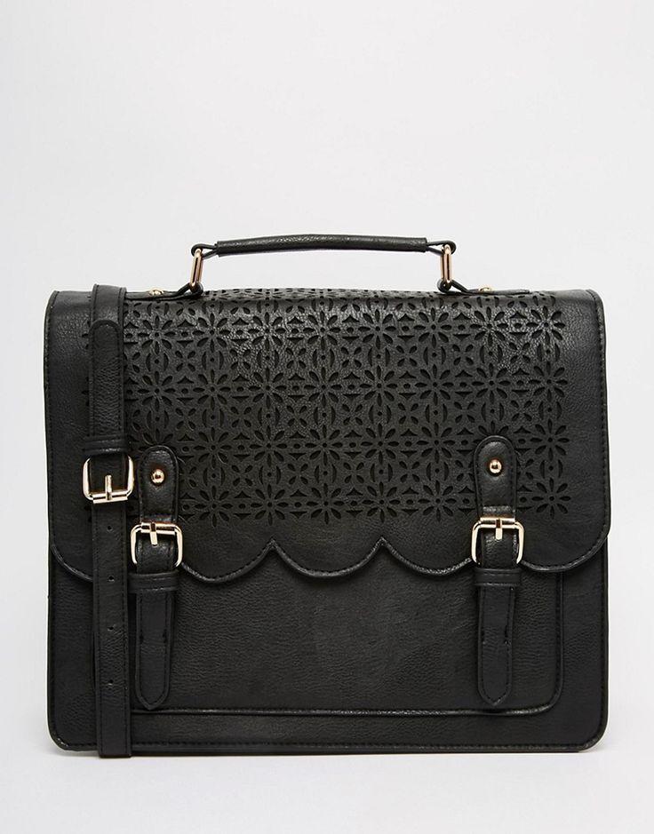 Image 1 ofASOS Scallop Satchel Bag