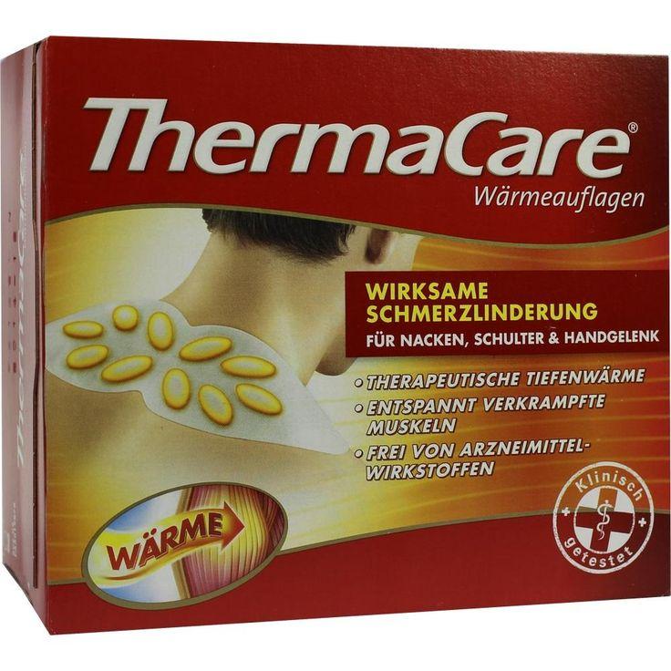 THERMACARE Wärmeumschläge Schulter, Nacken, Arme: Schmerzlinderung durch Langzeitwärme und Tiefenwärme.  Packungsinhalt: 6 St PZN:…