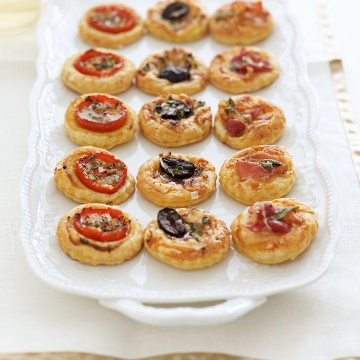 Happy mini tarts with three toppings