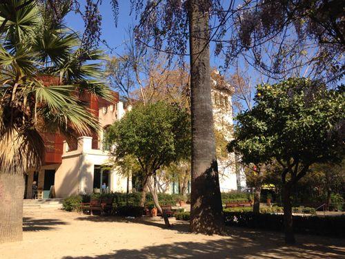 Centro Cívico Villa Florida en Sarrià Sant Gervasi Barcelona