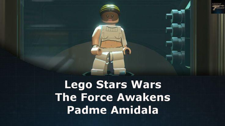 Lego Star Wars The Force Awakens Padme Amidala Unlock Location
