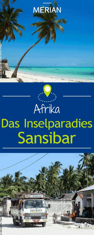 Sansibar steht seit jeher für wilde Sehnsüchte weißen Strand und atemberaubende Luxusresorts Aber