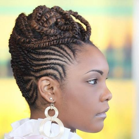 Astounding 1000 Images About Cornrow Styles On Pinterest Cornrow Cornrows Hairstyle Inspiration Daily Dogsangcom