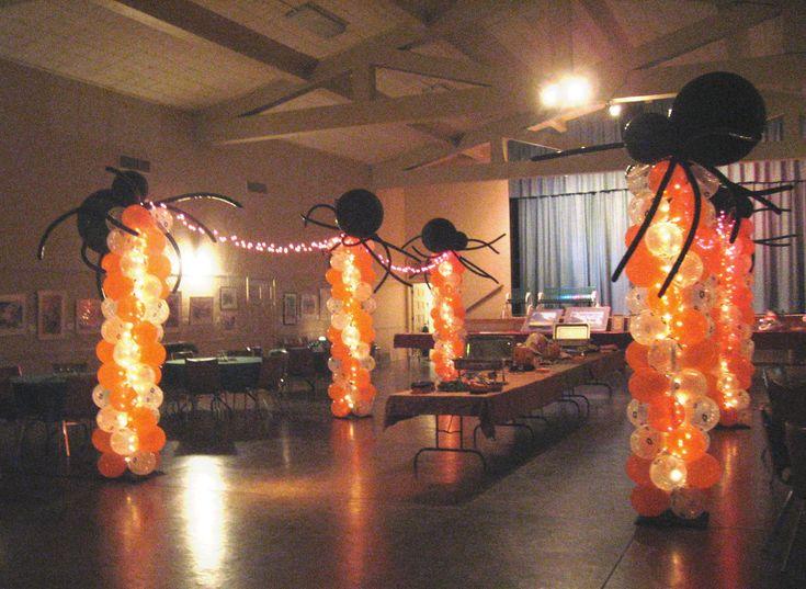 Halloween+centerpieces | Balloon Decor of Central California - HALLOWEEN AND FALL