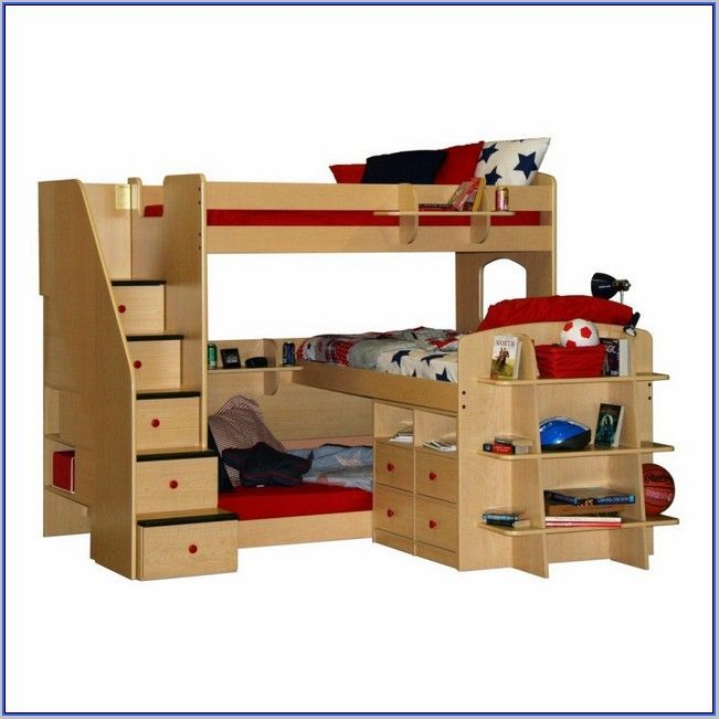 Wonderful L Shaped Bunk Bed Designs, Double Loft Beds, L Shaped Beds And Bed