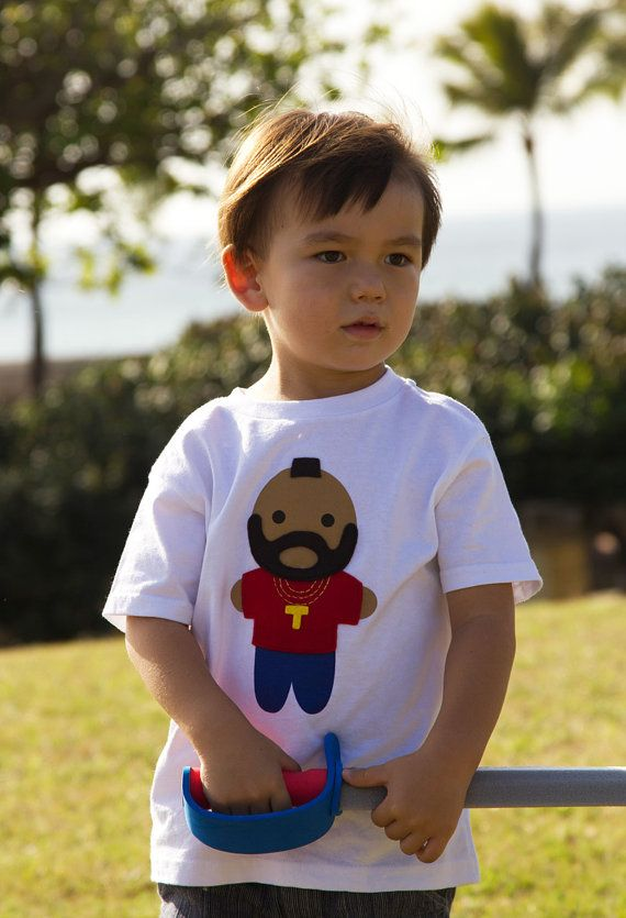 Looks Like Mr T Toddler TShirt by micielomicielo on Etsy, $25.00