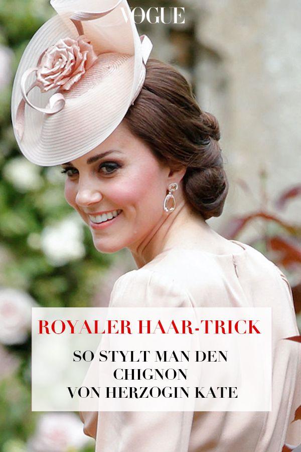 Kate Middletons Schönste Frisuren The Royals Pinterest Beauty