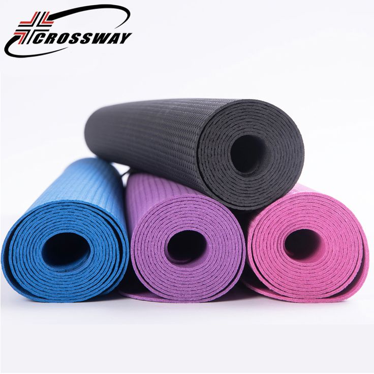 <Click Image to Buy> CROSSWAY Yoga Mat Folding Convenient Wear Resistant Soft Yoga Mat Antiskid Comfortable Cushion For FitnessSit-up With Free Gift ***  #Fitness