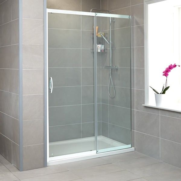 Aquafloe Isis 8mm Thick Glass Sliding Shower Door
