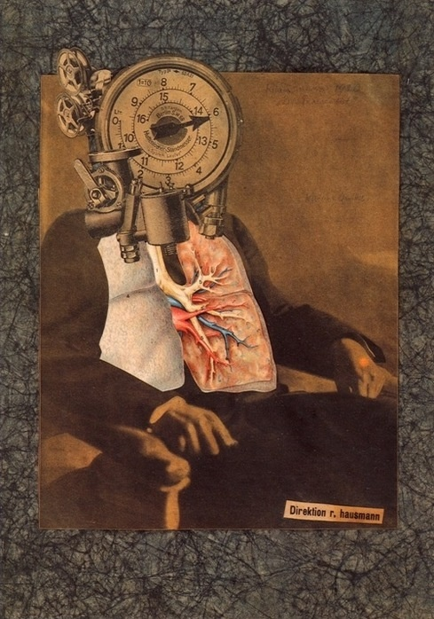 Raoul Hausmann, Dada (Collage for the First International Dada Fair)