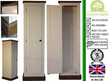 1 Door Rustic Cottingham Single Wardrobe COTT4