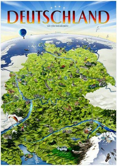 Deutschland. Als Poster erhältlich auf meiner Webseite goo.gl/jvgwQl