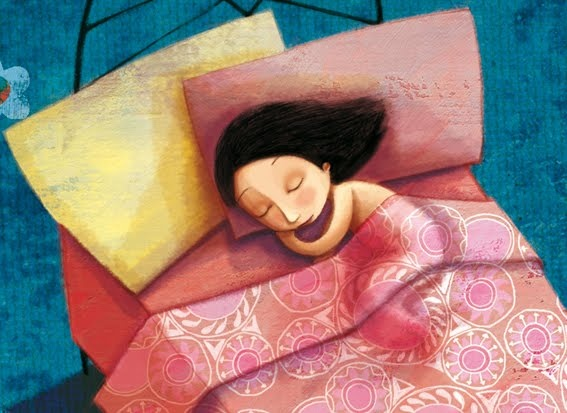 nanas para dormir a una flor