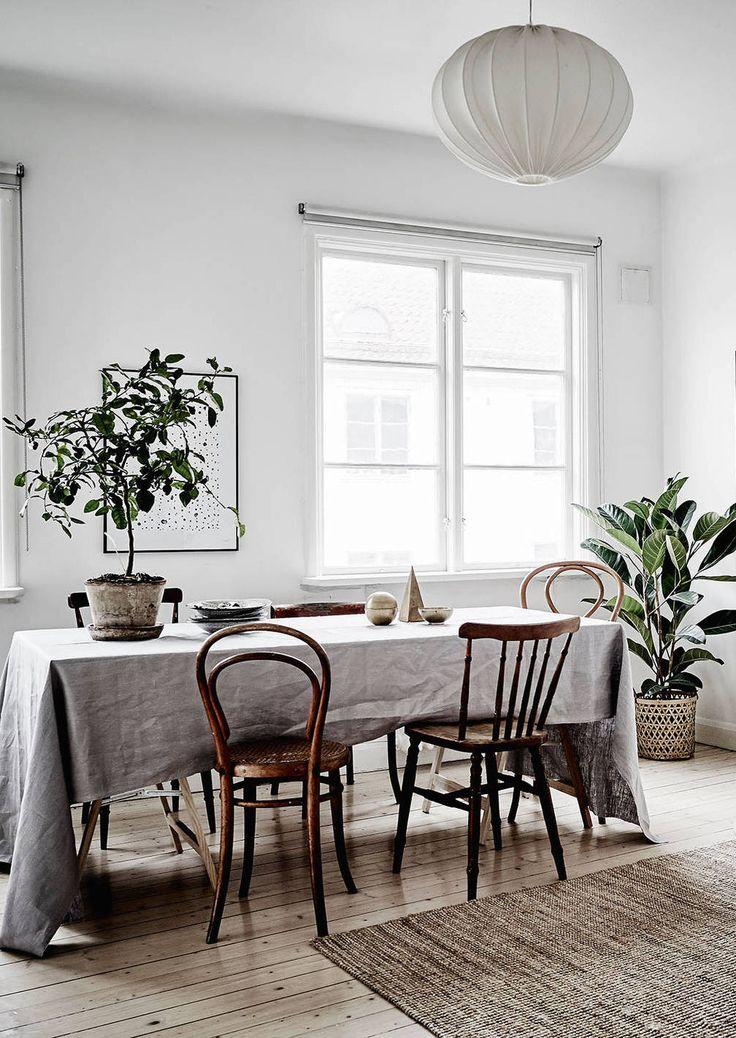 Dining table and chairs inspiration