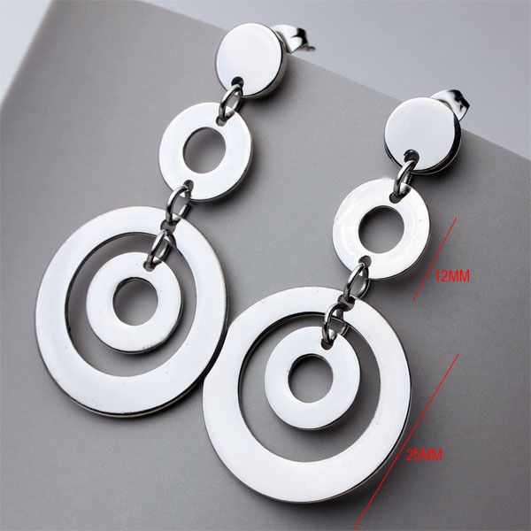 Find More Stud Earrings Information about Hot Sale Stainless Steel Casual Sporty Round Stud Statement Earrings For Women Cheap Jewelry Wholesale Free Shipping (A607),High Quality earring steel,China earings wholesale Suppliers, Cheap earring screen from LIDI Jewelry on Aliexpress.com