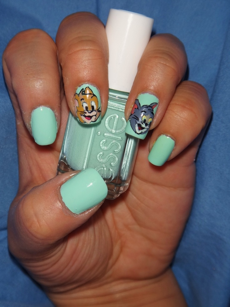 Très 37 best tom & jerry nail art tutorials & video gallery by nded  KB83