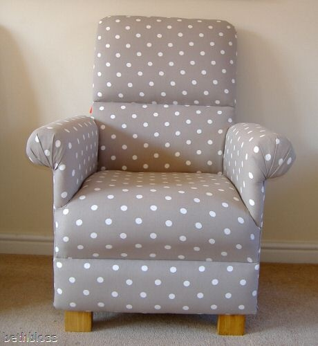 Details about ikea evalena fabric adult chair armchair bedroom nursery ladybird bumble bee new for Small bedroom chairs for adults