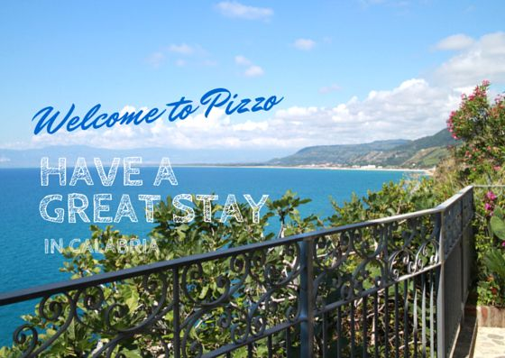 Welcome to Pizzo postcard for our guest at Palazzo Pizzo Residence in Pizzo Calabro