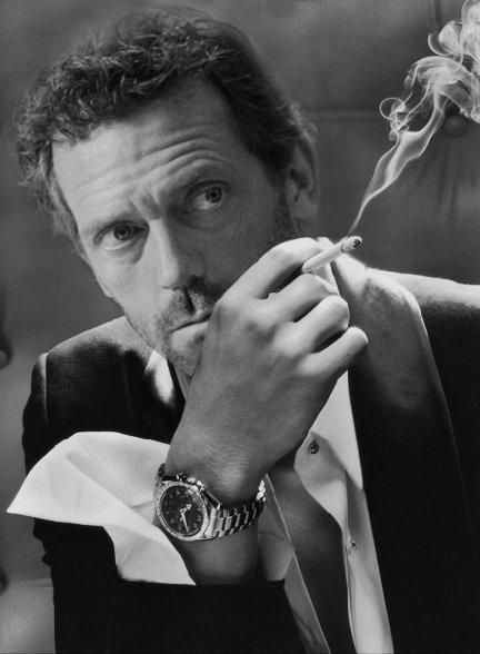 Image result for house md smoking