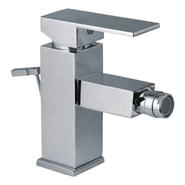 Buy Jaquar Kubix-F Single Lever 1-Hole Bidet Mixer with Popup Waste System KUB-35213FB in Mixers through online at NirmanKart.com