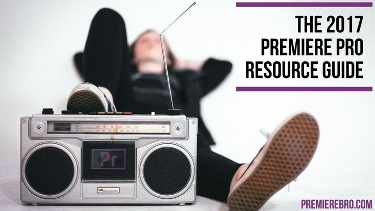 The Ultimate List of Free Premiere Pro Tutorials, Blogs and Groups for 2017  One of the best things about being a Premiere Pro user is the vast number  of free resources available to us. Adobe Premiere Pro has a vibrant online  community of users, and many of them are helpful contributors who of