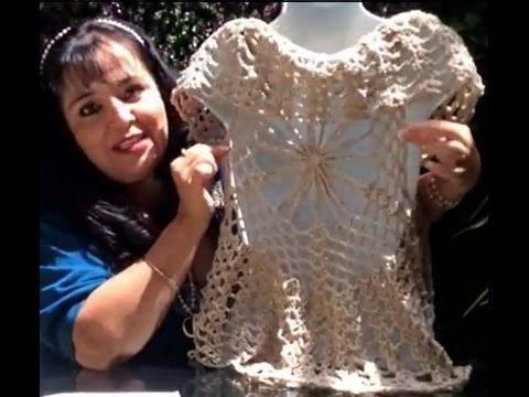 Patrones Crochet, Manualidades y Reciclado: Chaleco Araña - Tejido con Gancho - Tejiendo con Laura Cepeda
