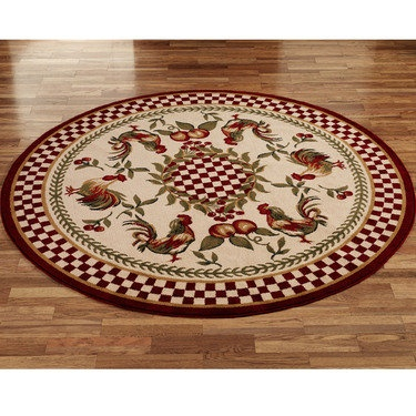 17 Best Images About Roosters Roosters Everywhere On Pinterest Round Rugs French Country