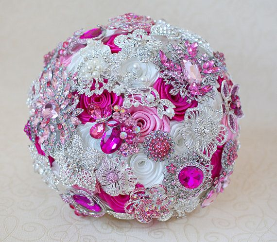 Wedding Brooch Bouquet Nz : Images about beautiful brooch bouquets on