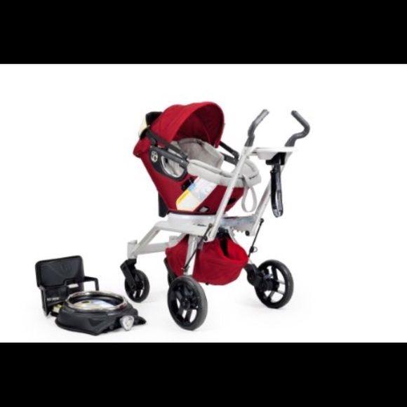 Orbit Baby G2 complete stroller system-ruby