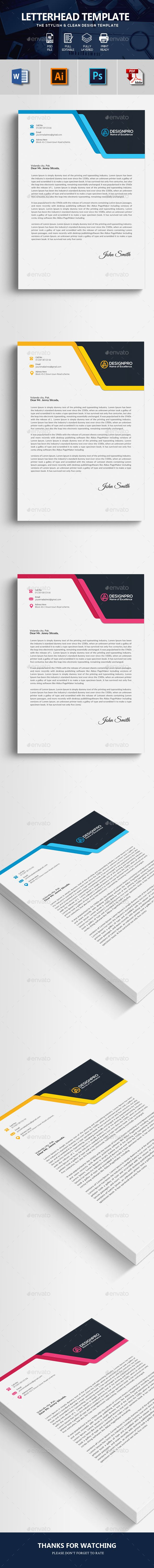 best 25 letterhead format ideas on pinterest