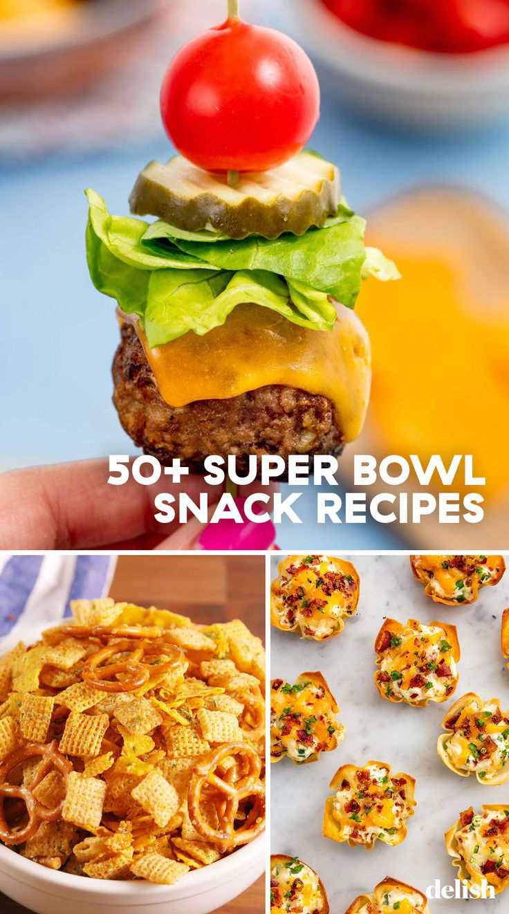 50+ Super Bowl Snack Ideas