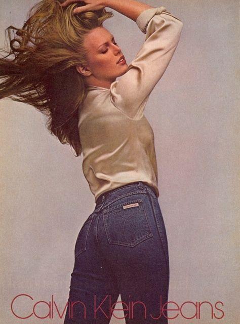 TBT: Patti Hansen for Calvin Klein Jeans 1979