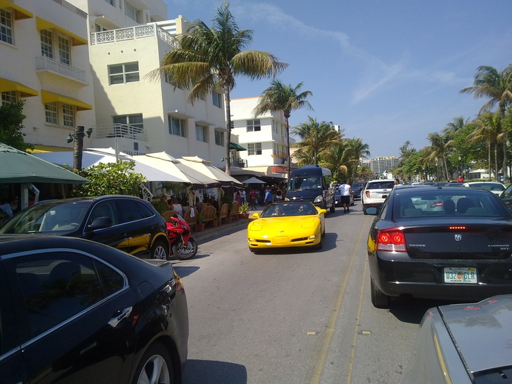 Miami Ocean Drive South Beach