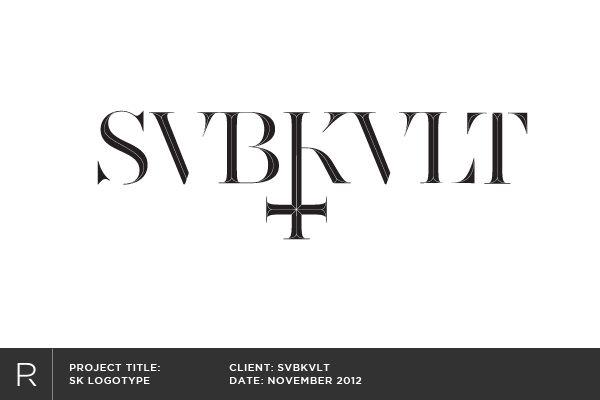 Logos & Logotypes by Ed Price, via Behance