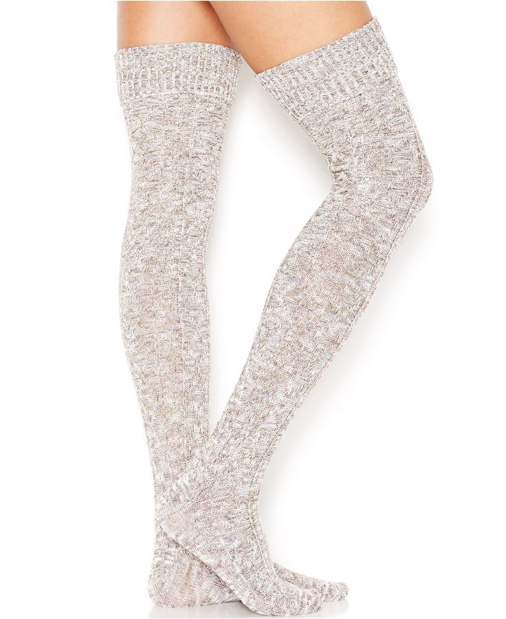 Free People Thigh-High Socks - Women - Macy's