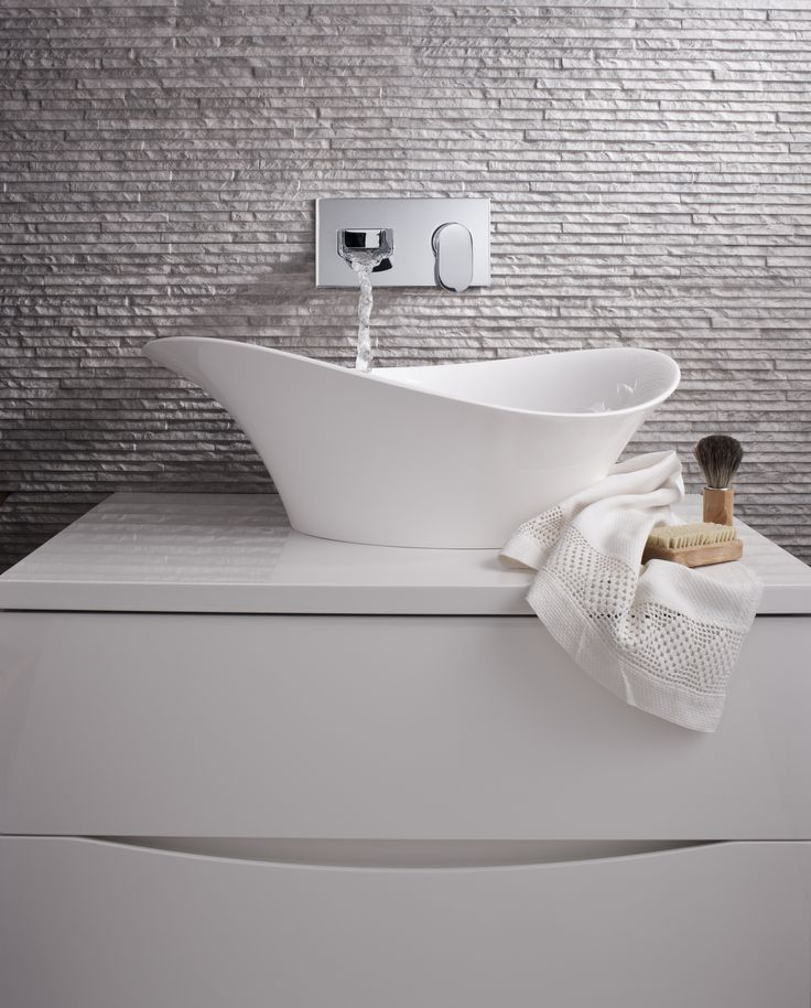 Alice Countertop Bathroom Basin from Crosswater http://www.bauhaus-bathrooms.co.uk/product/bauhaus-basins-countertop/alice/