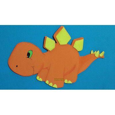 Dinosaurios Bebés. Figuras En Goma Eva 20 Cm - $ 39,00 en MercadoLibre