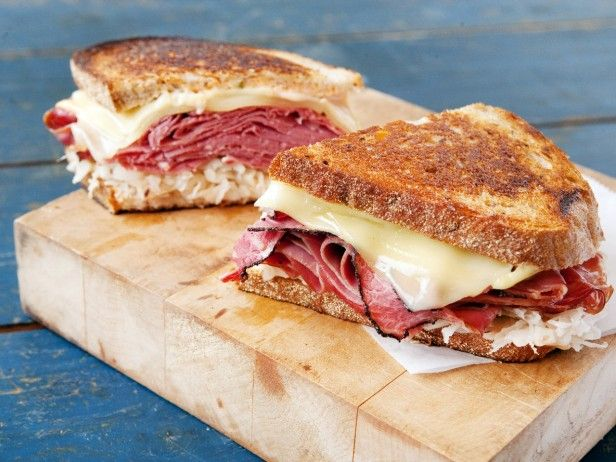 """University of Michigan: Triple Play Reuben. Is this sandwich the Best College Eat in the nation? Vote in our """"Bracket Battle: Best College Eats"""" tournament now."""